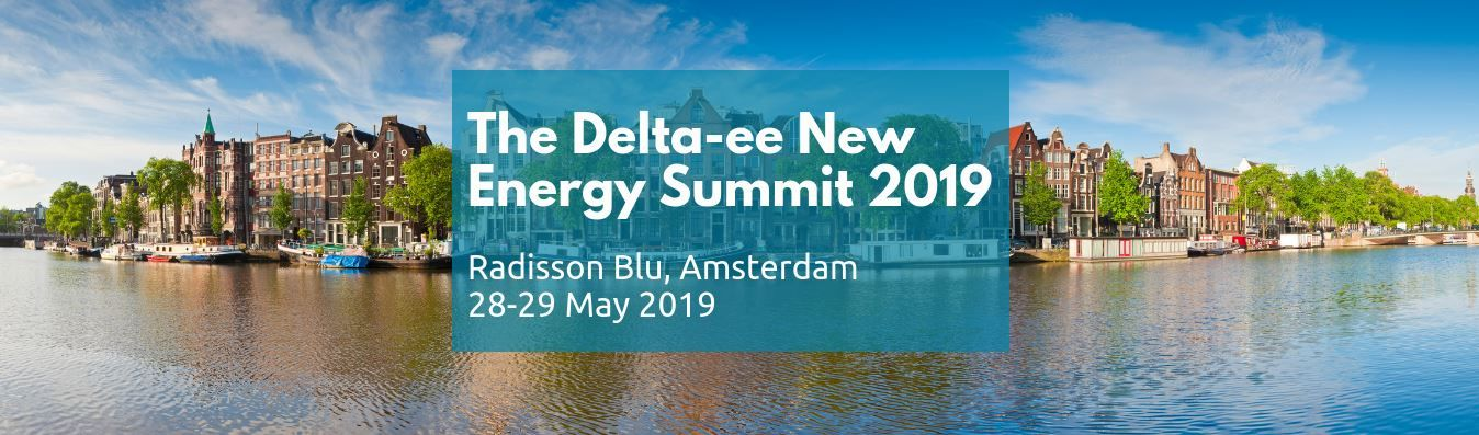The Delta-ee New Energy Summit 2019 banner