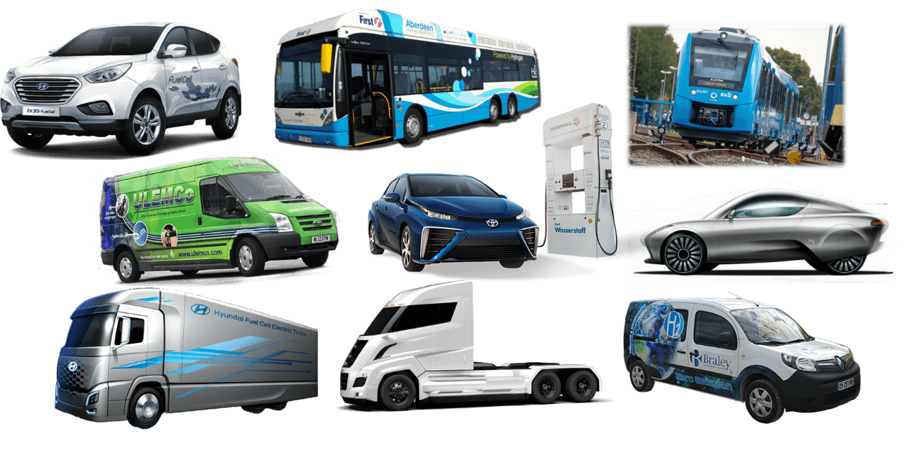 hydrogen vehicles